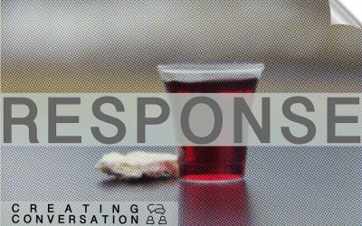 Response: We probably shouldn't have communion online
